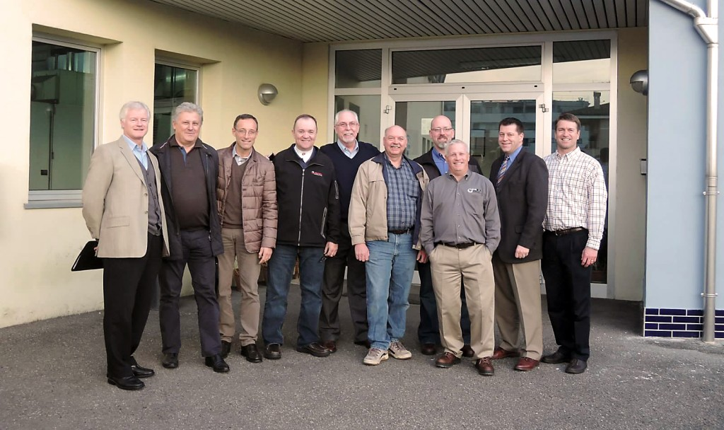 The 2014 Koepfer America Gear Technology Tour visits Rettifiche Resca, S.R.L.